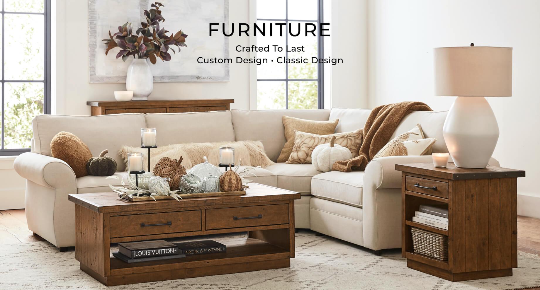 Shop Furniture Online  Pottery Barn UAE